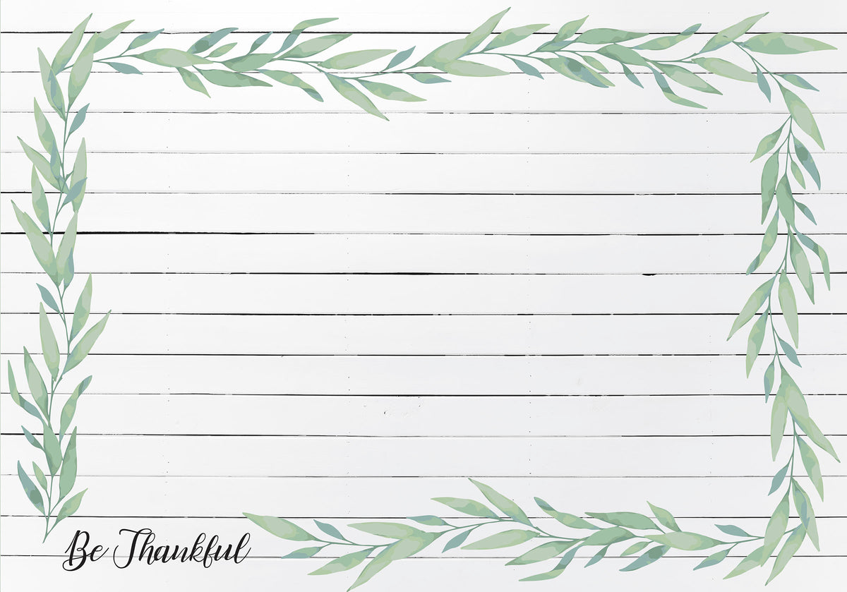 Rectangle Dailies® | Be Thankful (2-Pack)
