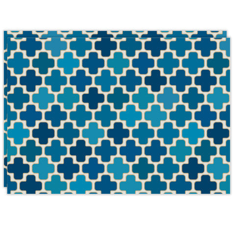 Rectangle Dailies® | Blue Mosaic (2-Pack) - TingeDaily