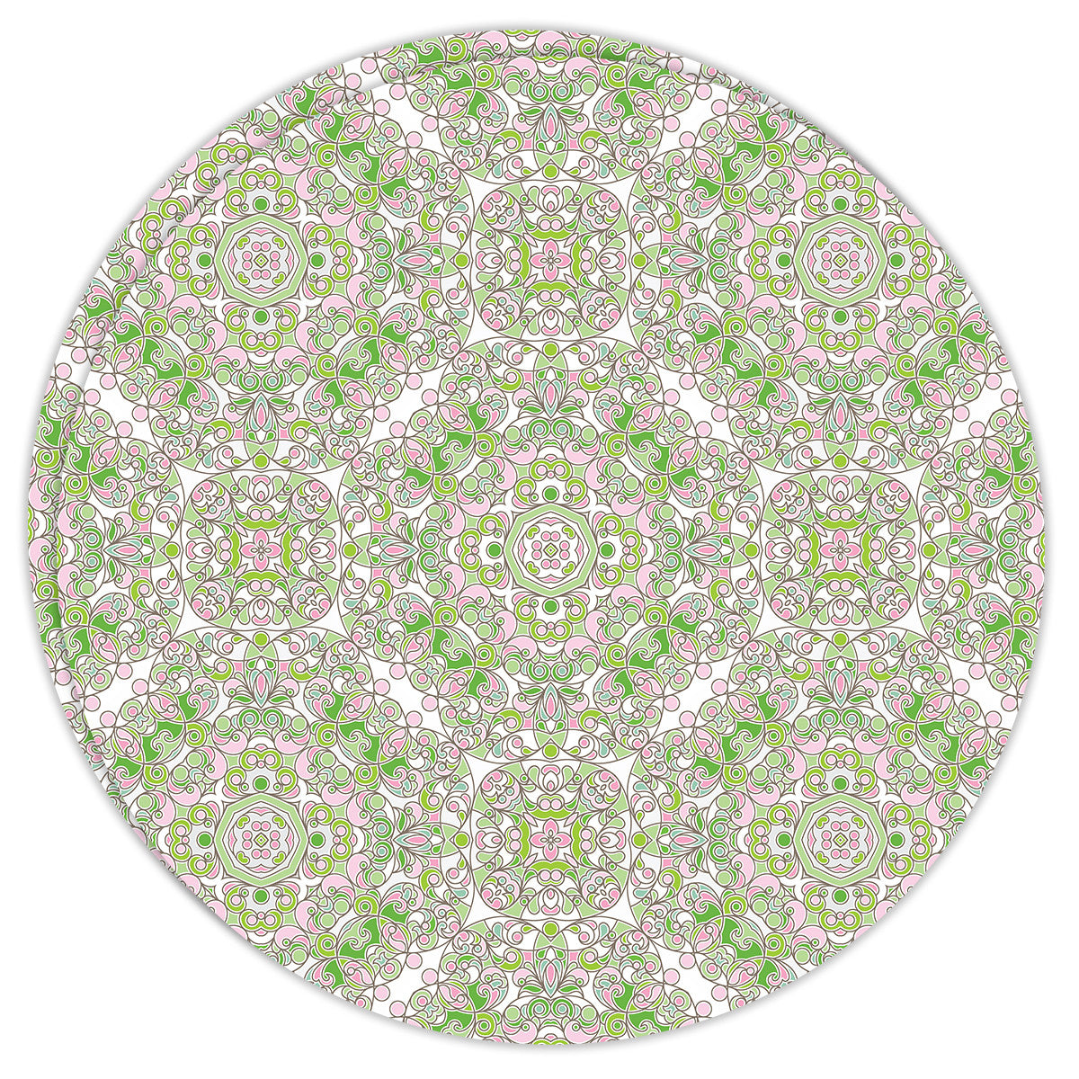 Round Dailies® | Mint Trellis (2-Pack) - TingeDaily