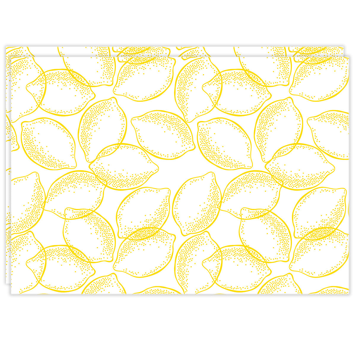 Rectangle Dailies® | Lemons (2-Pack) - TingeDaily