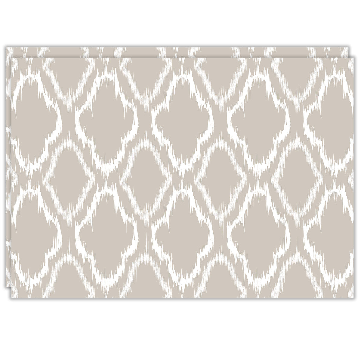 Rectangle Dailies® | Linen Ikat (2-Pack) - TingeDaily