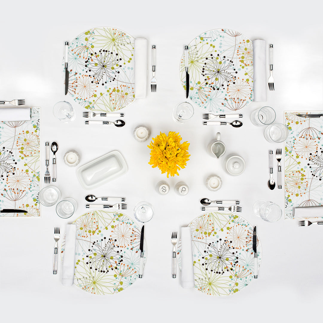 Spice Market Package | 6 Placemats + 18 Dailies® in 3 Prints - TingeDaily