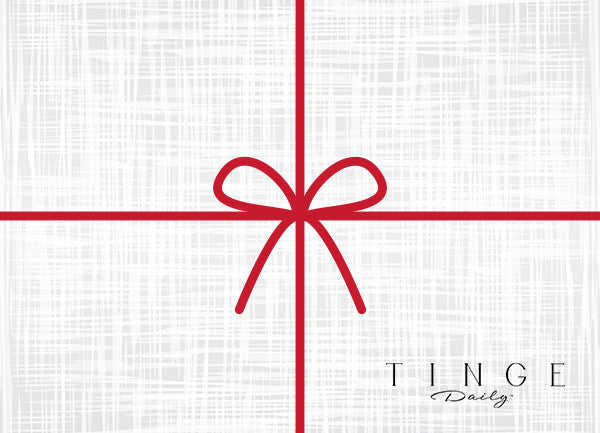 Tinge Daily Gift Card
