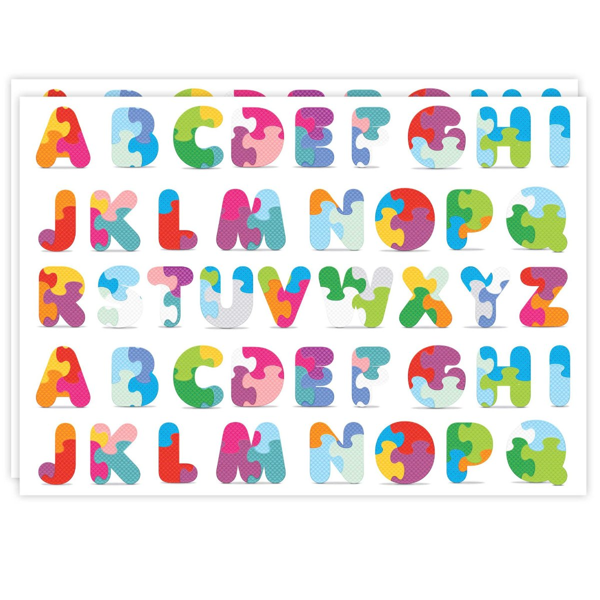 Rectangle Dailies® | Camo Alphabet (2-Pack) - TingeDaily