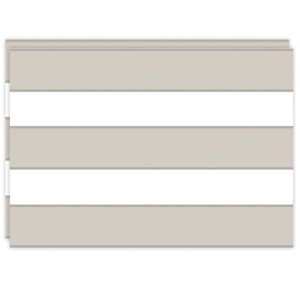 Rectangle Dailies® | Neutral Cabana Stripe (2-Pack) - TingeDaily
