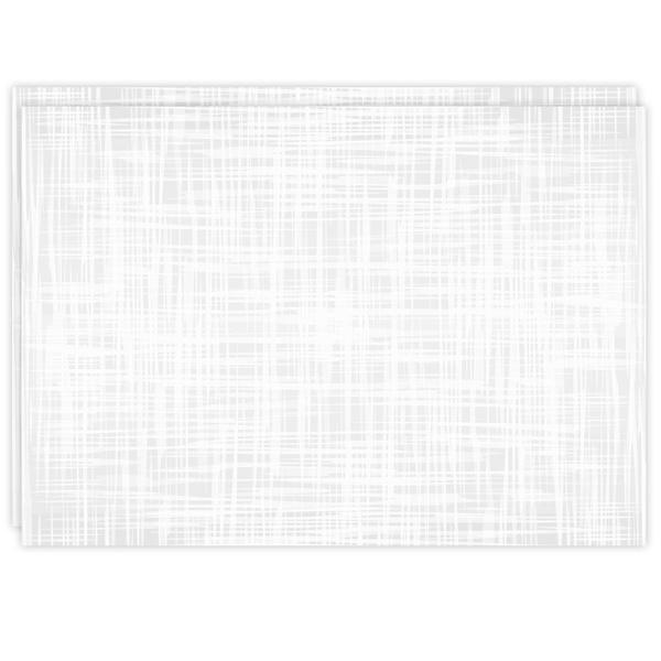 Rectangle Dailies™ | White Crosshatch (2-Pack)