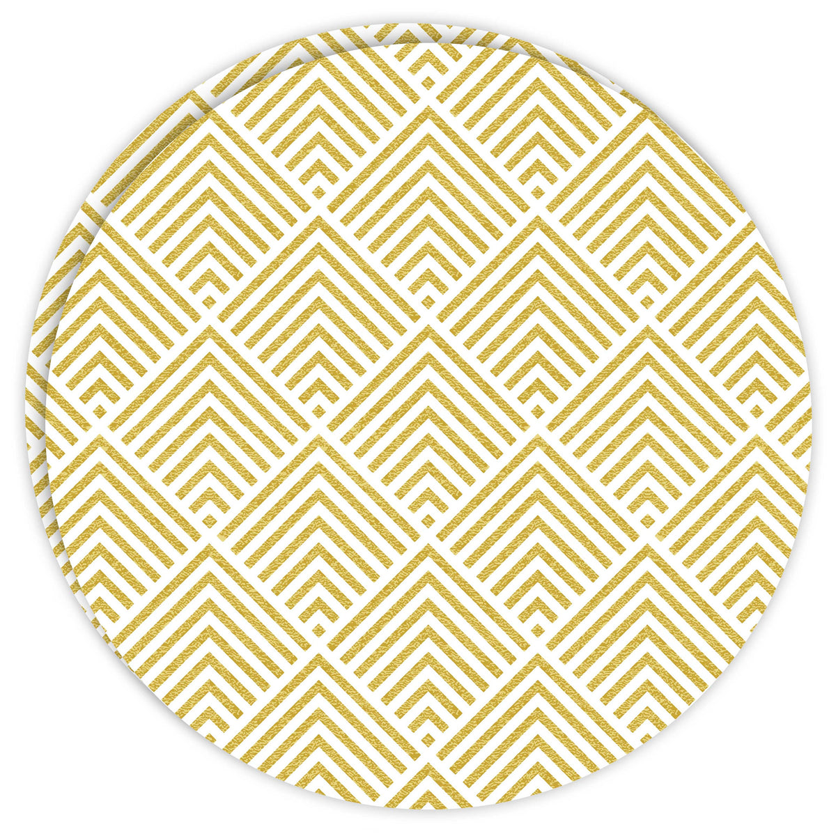 Round Dailies™: Geometric Gold