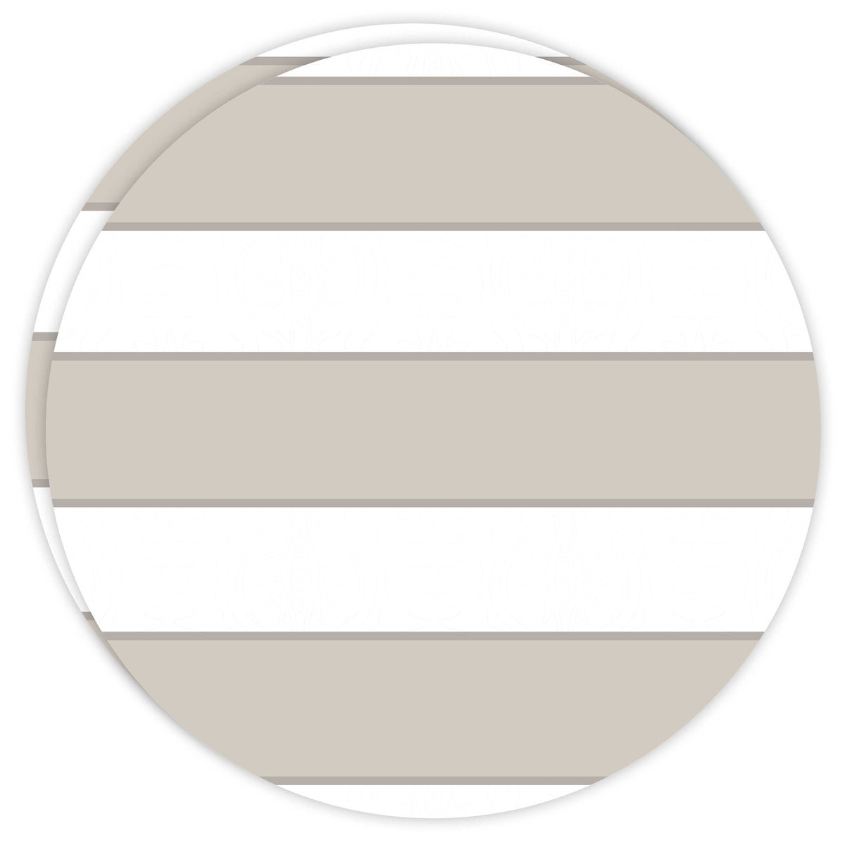 Round Dailies® | Neutral Cabana Stripe (2-Pack) - TingeDaily