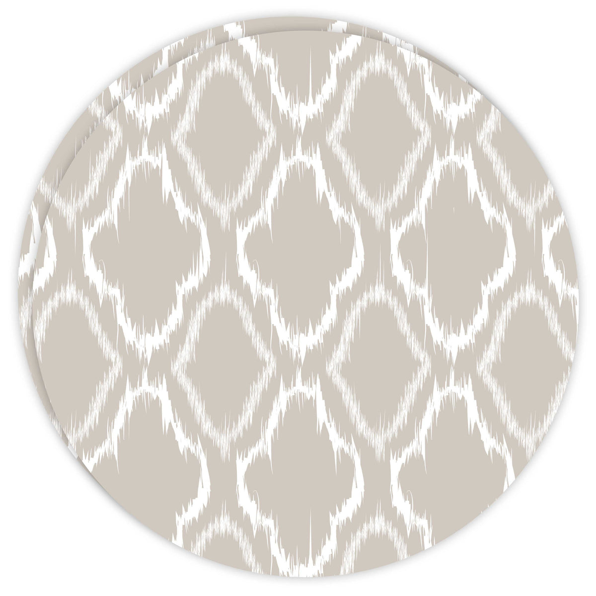 Round Dailies® | Linen Ikat (2-Pack) - TingeDaily