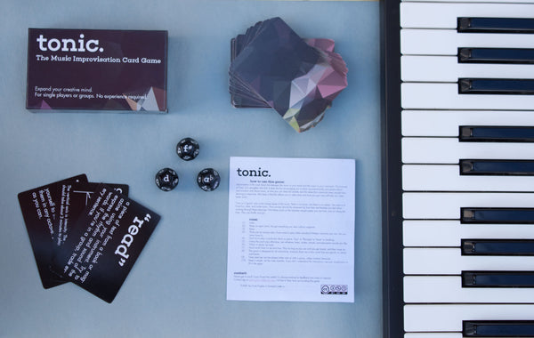 Tonic: The Card & Dice Game for Musicians DISCOUNTED