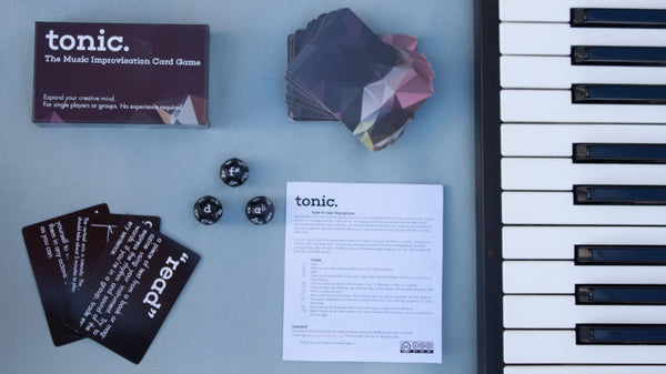 Tonic: The Card & Dice Game for Musicians