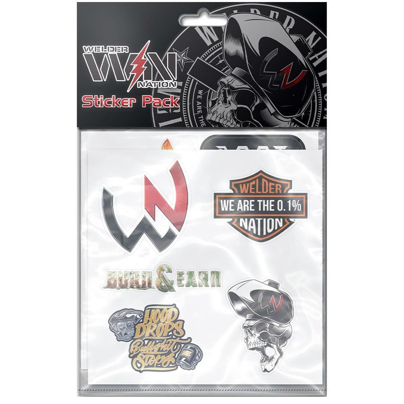 WN Classic Hard Hat Sticker Pack