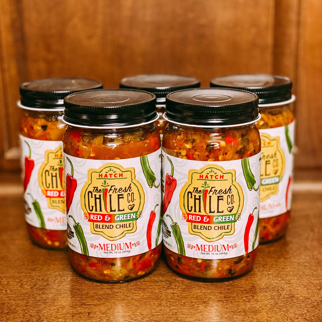 Fresh Chile Co. Red & Green Blend Chile