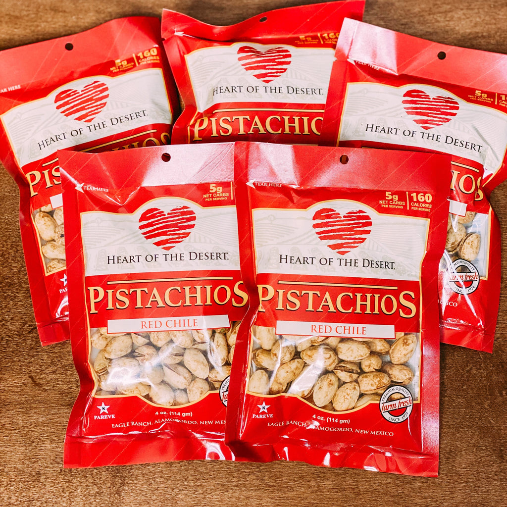 Heart of Desert Red Chile Pistachios