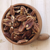 Roasted Salted Pecans by Legacy Pecans
