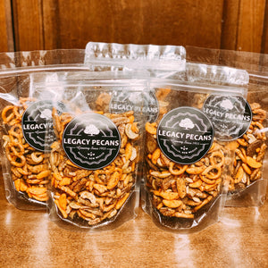 Pecan Trail Mix by Legacy Pecans