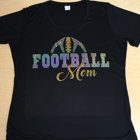 Football Mom Gold