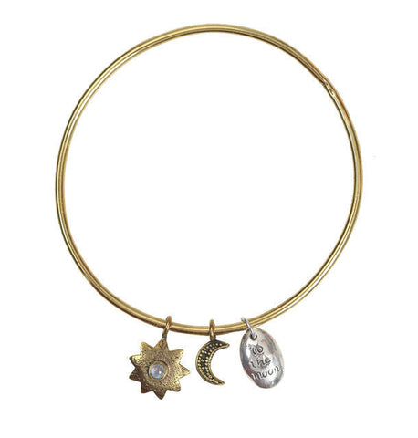 TO THE MOON BANGLE