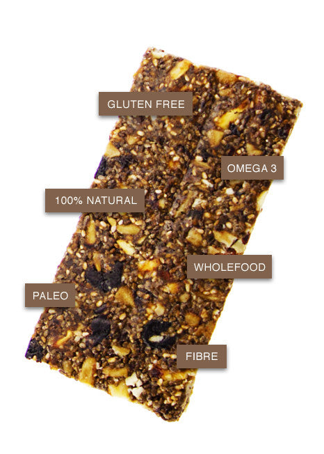 Superfood Bar Chia, Blueberry & Manuka Honey, Ingredients & Benefits