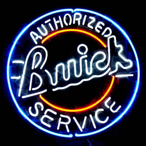 Professional  Buick Chevy Gm Us Auto Beer Bar Neon Sign