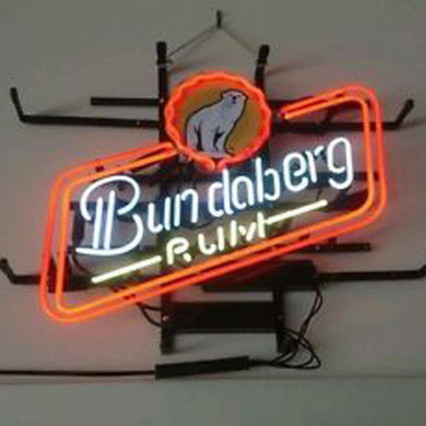 Professional  Bundaberd Rum Neon Sign