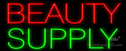 Beauty Supply Neon Sign