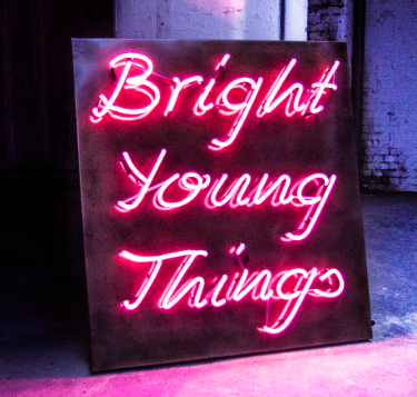 Bright Young Things neon sign