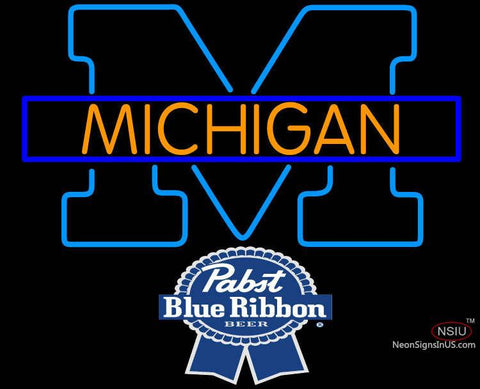 Pabst Michigan University of Michigan Neon Sign7