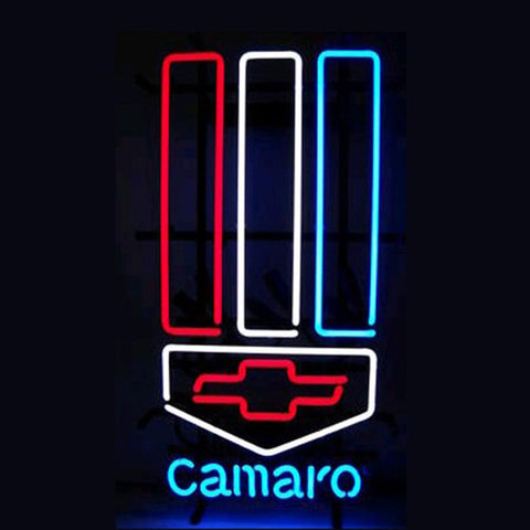 Professional  Chevrolet Camaro Neon Sign