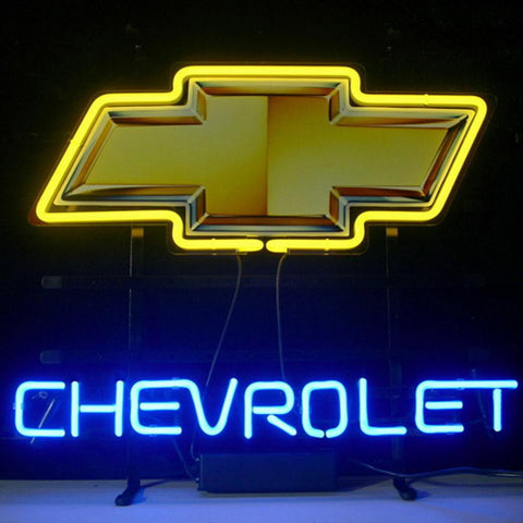 Professional  Chevrolet Shop Open Neon Sign