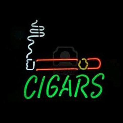 Professional  Cigars Shop Open Neon Sign
