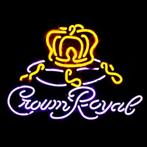 Professional  Crown Royal Neon Sign