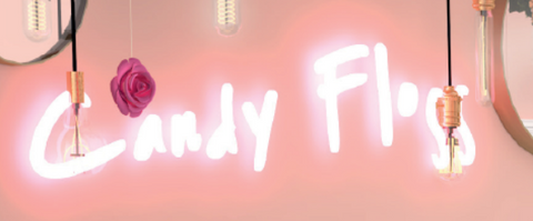 Candy Floss Handmade Art Neon Signs