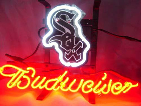Chicago White Sox Baseball Neon Sign