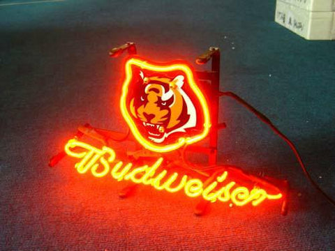 Cincinnati Bengals Football Neon Sign