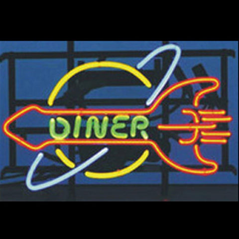 Professional  Dinner Restaurant Neon Open Sign