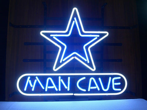 Dallas Cowboys Mancave Beer Bar Pub Gameroom Neon Sign
