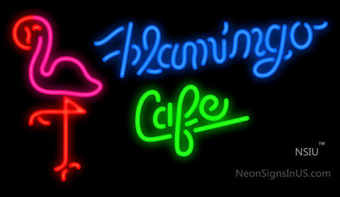 Flamingo Cafe Neon Sign