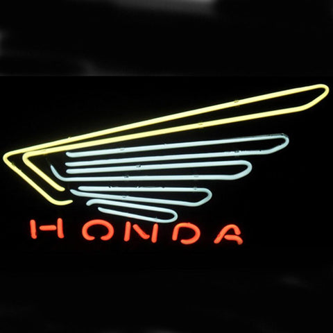 Professional  Honda Shop Open Neon Sign