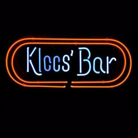 Professional  Kloos Bar Logo Store Beer Real Neon Sign Gift