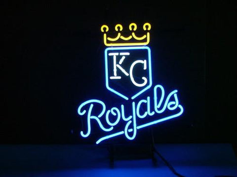 Kansas City Royals Baseball Beer Bar Neon Light Sign