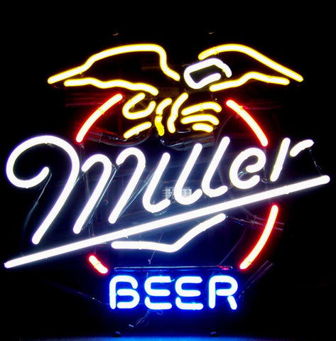 Miller Beer Eagle Neon Sign