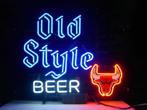 Nba Chicago Bulls Old Style Beer Basketball
