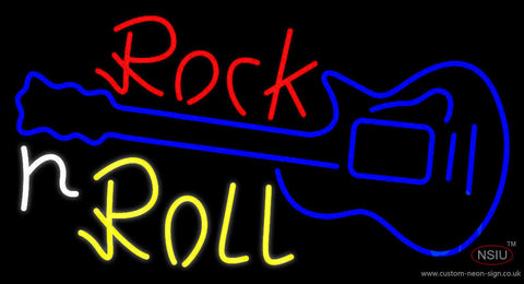 White Rock N Roll  Neon Sign