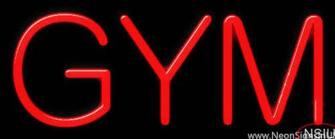 Gym Real Neon Glass Tube Neon Sign
