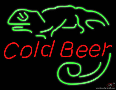 Cold Beer Bar Real Neon Glass Tube Neon Sign