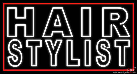 Hair Stylist Real Neon Glass Tube Neon Sign