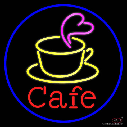 Cafe Real Neon Glass Tube Neon Sign