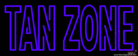 Tan Zone Real Neon Glass Tube Neon Sign