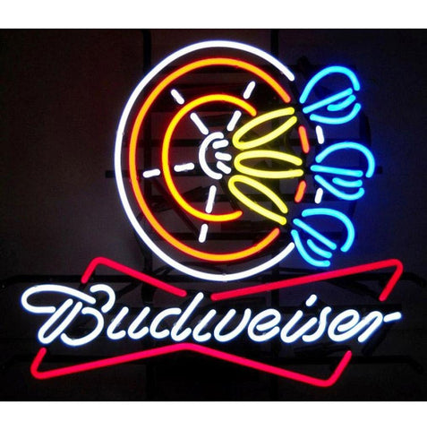 Neonetics Business Signs Budweiser Darts Neon Sign